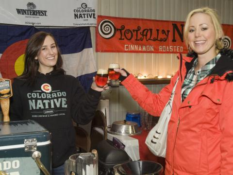 Sampling Colorado wine, craft beer and chili at the Estes Park Winter Festival